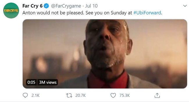 Far Cry 6 Reveals Cinematic Trailer Announcement Release Date Gameplay Features