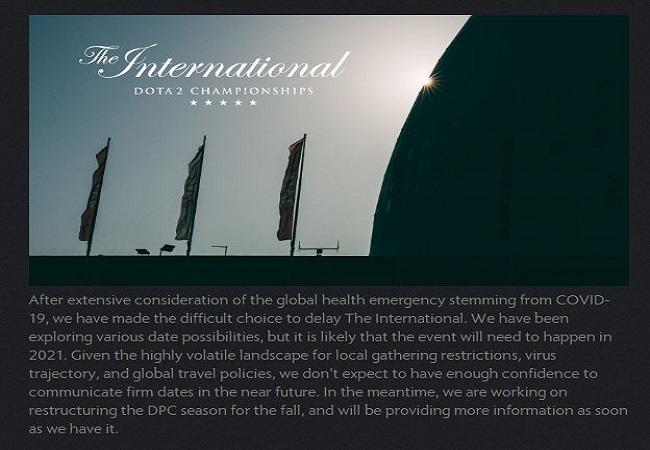 Dota International 2021
