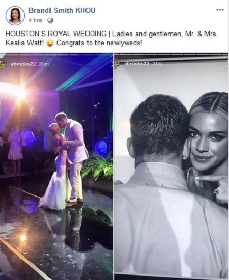 Jj Watt Wedding Pictures: Kealia Ohai Wedding With Her Fiance JJ Watt— Bequeath